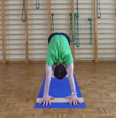 Wykorzystanie deseczki do jogi