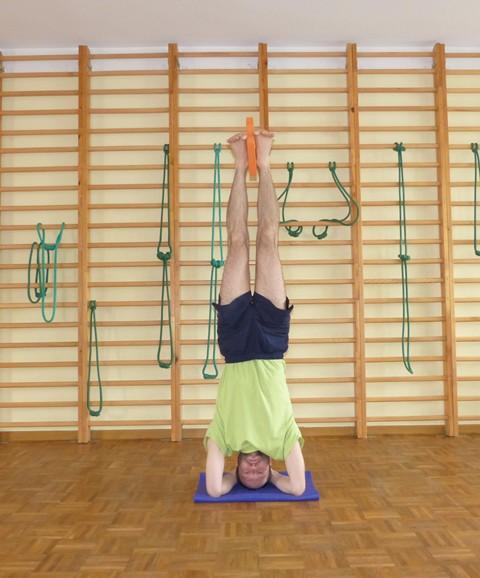 Wykorzystanie pianki do jogi